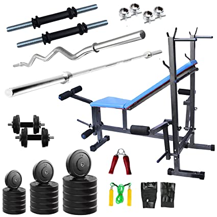 GymMart Workout Gym Package Of 8 In 1 Bench