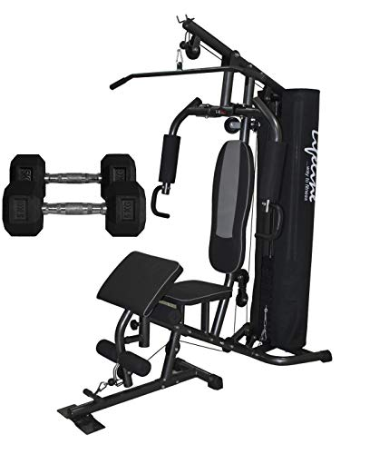 Lifeline 150 LBS Deluxe Gym for Workout at Home