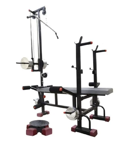 Sporto Fitness 20 in 1 Bench with Twister for Gym Exercise 2X2 ERP SuperPipe
