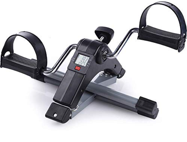 . Yozo Pedal Exerciser LCD Counter Exercise Bike Indoor Fitness Resistance Home Gym